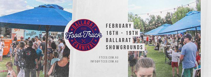 Ballarat Food Truck Carnival (Free Event) - Melbourne Food