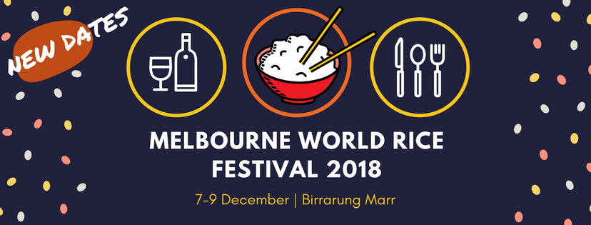 Melbourne World Rice Festival 2018