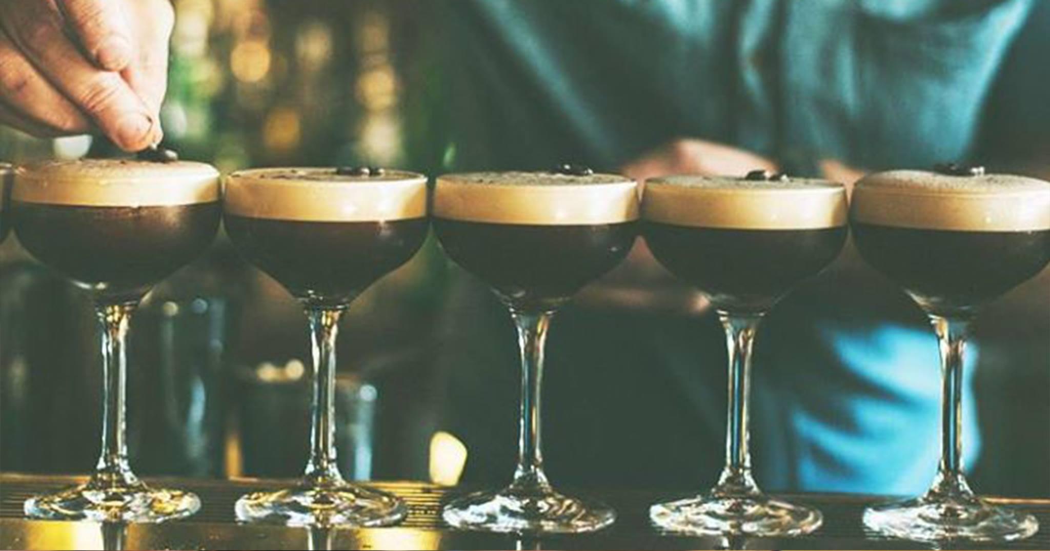 Bottomless Espresso Martinis