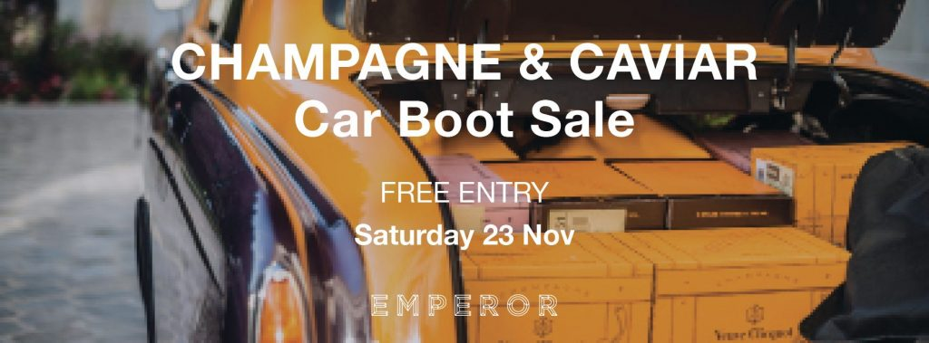Champagne & Caviar Warehouse Sale